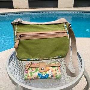 Relic small messenger bag with wallet